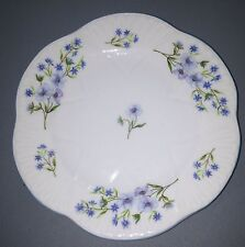 "Pair Of Shelley ""Blue Rock"" Dainty Bread And Butter Plates"
