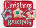 boy girl cub CHRISTMAS BAKING cookies Fun Patches Crests Badges SCOUT GUIDES