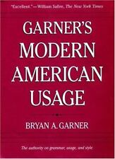 Garner's Modern American Usage, Garner, Bryan A., Good Book