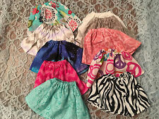 Lot of Clothes for MGA BFC INK Best Friends CLub Doll Skirt 10pcs