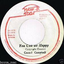 "new star 7"" : CORNEL CAMPBELL-you can be happy   (hear)"
