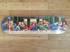 The Last Supper Da Vinci Supreme NY Jesus Christ Skate Deck Wrapped Box logo