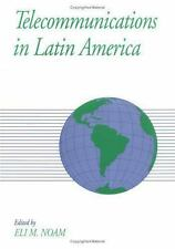 Telecommunications in Latin America (Global Communications Series)-ExLibrary