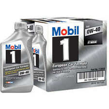 Mobil 1 Advanced Full Synthetic Motor Oil 0W-40 - 6 Pack Of 1 Quart each