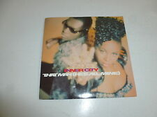 "INNER CITY - That Man [He's All Mine] - 1990 UK  Scarce 2-Track 7"" Vinyl SIngle"