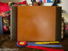 Ultra RARE Vintage LOUIS VUITTON SAKS FIFTH Desk Blotter Pad Office Accessory LV