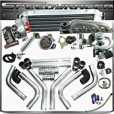 17pcs BMW 323IS 325IS 328IS E36 E46 M50 T04E T3/T4C Turbo Kit With EMUSA Turbo