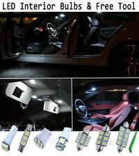 Interior Car LED Bulbs Light KIT Package Xenon White 6000K For Vauxhall Insignia