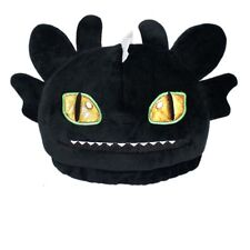 How to Train Your Dragon 2 Toothless Night Fury Beanie Hat Ski Cap Pet Plush Hat