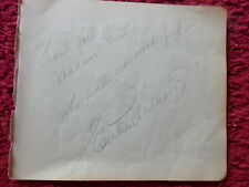 ACTRESS/SWIMMER ESTHER WILLIAMS AUTOGRAPH