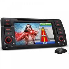 AUTORADIO FÜR 3er BMW E46 GPS NAVI NAVIGATION BLUETOOTH DVD CD USB SD MP3 CANBUS