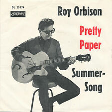 "7"" - Roy Orbison - Pretty Paper / Summersong - London DL 20774 - DE 1964"