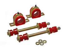 Energy Suspension 3.5213R Front 36mm Sway Bar Bushing & End Link Set (Red)
