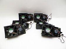 Dell HU540 CPU Fan Assembly GX620 GX520 - YW713 YN033 w/ Speaker D9899 Lot of 6