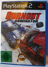 PS 2 - BURNOUT - DOMINATOR - mit Verpackung + Anleitung