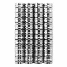 1/8 x 1/16 Inch Small Refrigerator Neodymium Rare Earth Magnets N48 (100 Pack)
