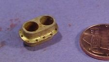 HO/HOn3 BRASS WISEMAN BACK SHOP PART HBS237 LARGE STEAM LOCOMOTIVE DOUBLE STACK