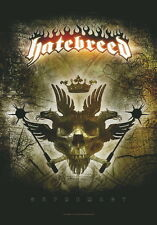 """HATEBREED FLAGGE / FAHNE """"SUPREMACY"""" POSTERFLAG"""