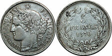 5  FRANCS CERES SANS LEGENDE 1870 K  F 322.4