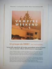 ▓ PLAN MEDIA ▓ VAMPIRE WEEKEND : VAMPIRE WEEKEND