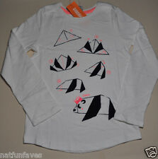 Gymboree girls size 4 NWT how to make a panda bear top long sleeve 100% cotton