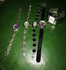 LOT 5 Ladies WATCHES Rumours LYNX Geneva Ltd Cannes NOT WORKING