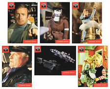 Lost Worlds of Gerry Anderson 6 Preview Promo Card Set PR1-PR6 -Not Thunderbirds