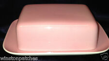 THOMAS ROSENTHAL SUNNY DAY ROSE LIGHT PINK BUTTER DISH & LID GERMANY