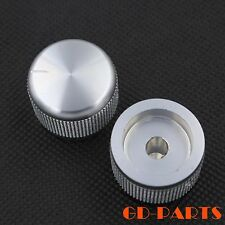 25*19mm Machined Solid Aluminum CD Volume Potentiometer Knob Silver anodized 1PC