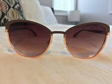 New Jessica Simpson Sunglasses Brown Rose Gold CatEye HHJSOP0222-R J5316ND