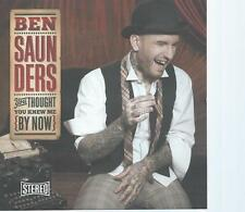 CD album - BEN SAUNDERS - YOU THOUGHT YOU KNEW ME - TATTOO SINGER (my ref : EEE)