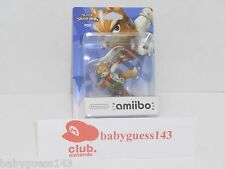 Fox amiibo Figure First Print USA Edition | NiB Very Rare Mint Condition
