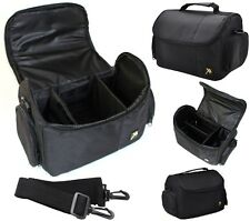 Deluxe Large Carrying Case Bag For Panasonic Lumix DMC-LX100 DMC-GF7