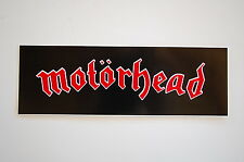 "Motorhead Sticker Decal Window Indoor/Outdoor Approx. 6.5"" X 2.5"" (364)"