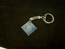 Vintage  60 DAYS SOBRIETY ONE DAY AT A TIME  ON VINTAGE CHAIN & KEYRING