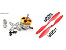 A2212 1000KV Outrunner Motor + 1pair 1045L/R (RED) Quad-Rotor Multi Aero-Copter