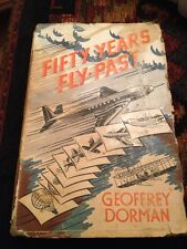 FIFTY YEARS FLY PAST by GEOFFREY DORMAN  1951 Hardback 1st