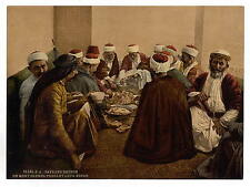 Peasant Druses Of Mount Carmel Taking A Meal A4 Photo Print