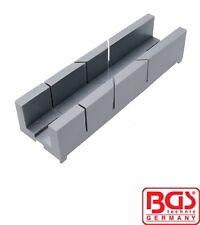 BGS Tools Plastic Miter Box 245x67x48mm 50855