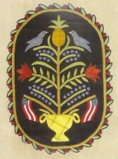 """Wool Applique Pattern by All Through The Night  """"Hospitality""""  Penny Rug"""