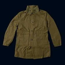 BLACK RABBIT B-59 Armour Trench Coat Military Jacket nigel cabourn M mr porter