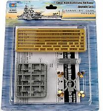 Trumpeter 1/350 RN Roma Battleship's  propellers railing etched details set 6625