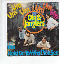 "Single 7"" - Ola & Janglers ""Um um um um um um // Hold on to what you see"""
