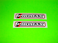 PROMAX BMX MOUNTAIN BIKE BRAKE SHOES PADS HUBS SEAT CLAMP STEM STICKERS DECALS #