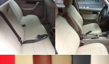 FRONT n REAR LEATHERETTE CUSTOM CAR SEAT COVERS Fits TO 5 SERIES E34 1988-1996