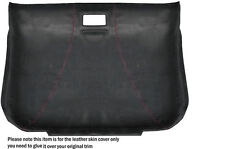 RED STITCH ROOF LINING HEADLINING PU SUEDE SKIN COVER FITS AUDI TT MK1 98-06