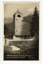 AK Innsbruck, Hungerburg, Wallfahrtskirche zur hl. Theresia 1932