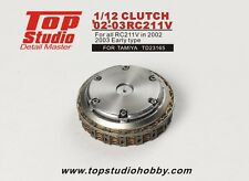 1:12 2002 2003 Honda RC211V Clutch detail set by Top Studio ~ TD23165 ~ Tamiya