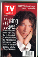 TV Guide March 8-14 1997 Howard Stern Law & Order EX 011416jhe