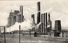 Newport Iron Steel Works Middlesbrough unused old pc Valentines